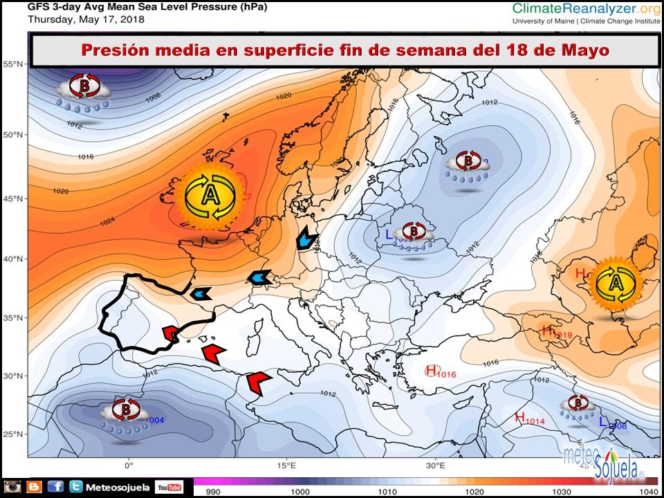 Anomalias térmicas Meteosojuela