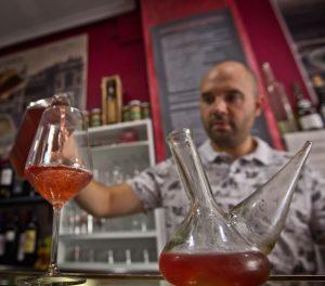 Zurracapote del bar Gil de Logroño