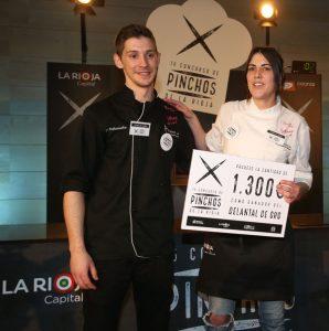 Los ganadores de la última edición del concurso de tapas, foto de Juan Marín