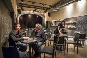 La Sala Negra, en la calle Lardero. Foto de Justo Rodríguez