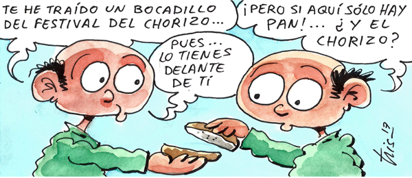 tris-chorizo